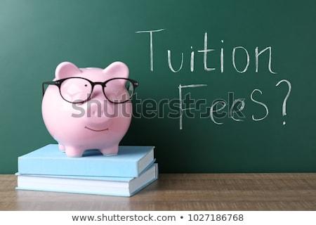 Сток-фото: Paying For School