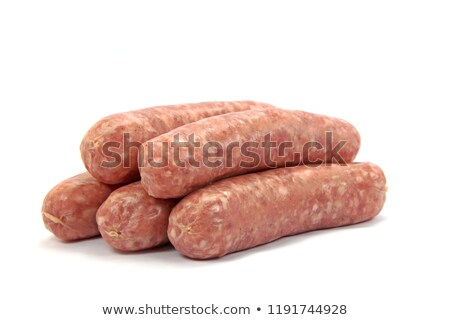 crude sausages stock photo © zoryanchik