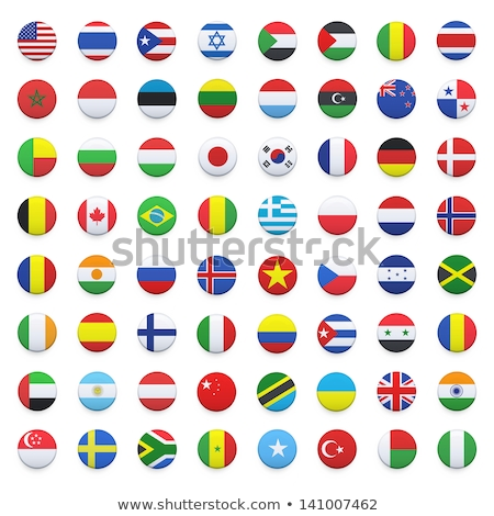 Round icon of flag of jamaica Stock photo © MikhailMishchenko