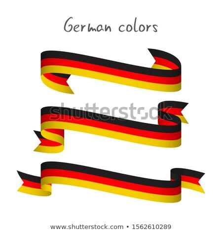 Stock photo: Ribbon Set - Patriotic