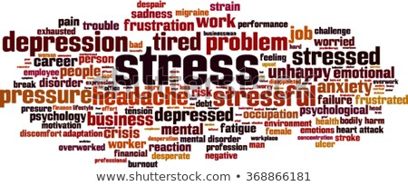 Heart attack word cloud Stock photo © tang90246
