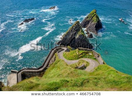 deniz · manzarası · İrlanda · deniz · seyahat · manzara · kayalar - stok fotoğraf © phbcz