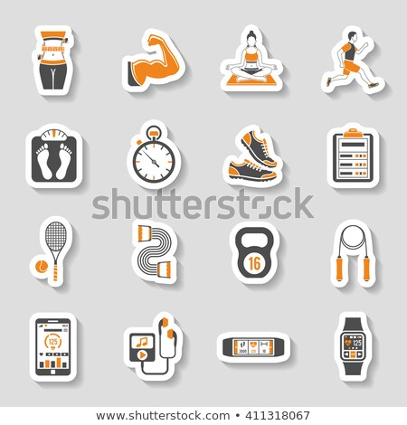 expand sticker icon Stock photo © nickylarson974