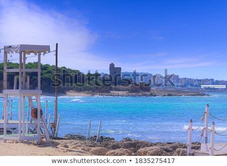 пляж небе морем фон красоту лет Сток-фото © carloscastilla