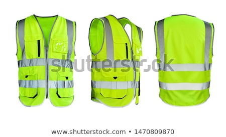 Safety vest isolated Stock photo © ozaiachin
