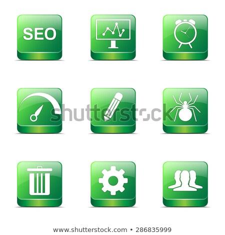 Stock fotó: Seo · internet · felirat · tér · vektor · zöld