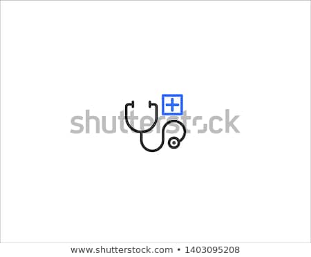 hospital health blue vector button icon design set 2 stock photo © rizwanali3d
