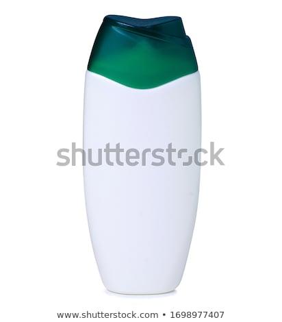 bianco · shampoo · bottiglia · isolato · design · bellezza - foto d'archivio © tetkoren