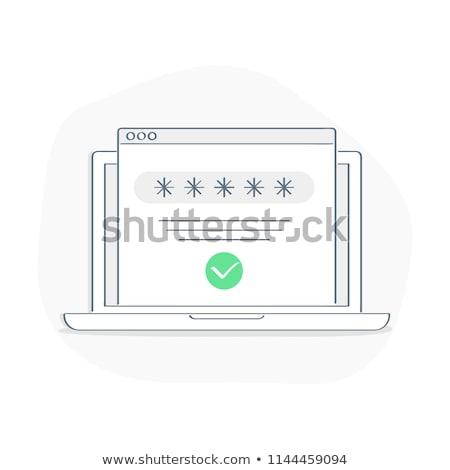 preto · login · botão · moderno · negócio - foto stock © fuzzbones0