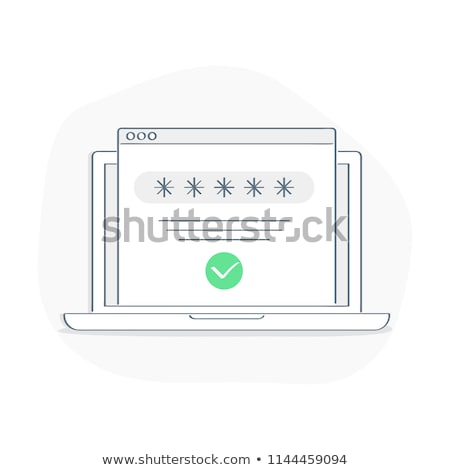 Login palavra pc mouse internet tecnologia Foto stock © fuzzbones0