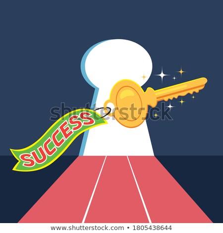 ключевые открытие тайну успех символ горные Сток-фото © Lightsource