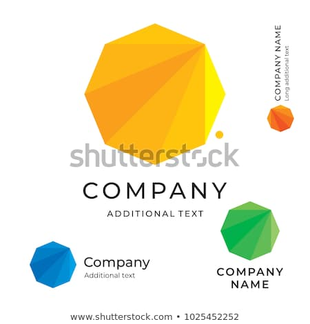 set of trendy abstract vibrant and colorful icons stock photo © marish