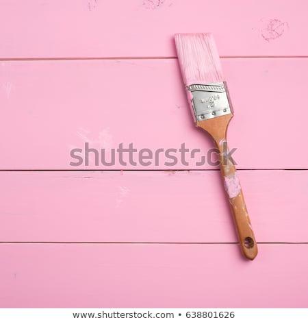 Painting word painted and brush stock photo © fuzzbones0
