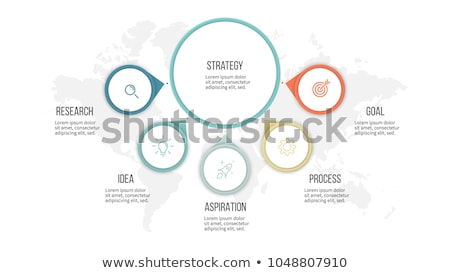 Vector Template for presentation slides 5 Stock photo © orson