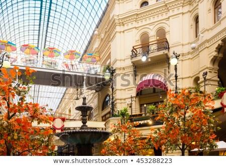 интерьер · камедь · Москва · красный · каменные · магазин - Сток-фото © Paha_L