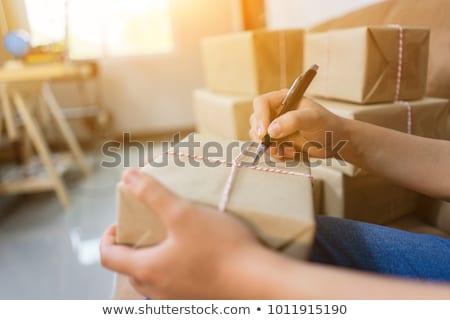 Kínai címkönyv fehér közelkép Stock fotó © devon