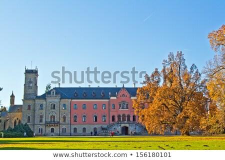 Palácio República Checa viajar castelo arquitetura história Foto stock © phbcz