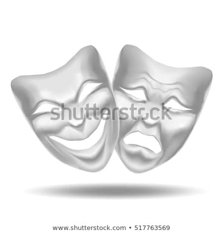 realistic carnival or theater mask isolated Stock photo © smeagorl