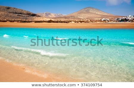 пляж Канарские острова Испания небе пейзаж морем Сток-фото © lunamarina