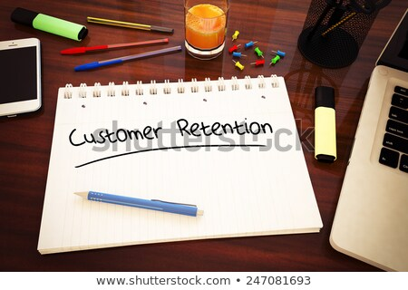 Business strategy to keep customers Stock photo © stevanovicigor