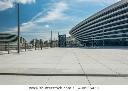 современных · Небоскребы · Варшава · облачный · день - Сток-фото © filipw