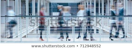 Grande prédio comercial branco escritório casa edifício Foto stock © bluering