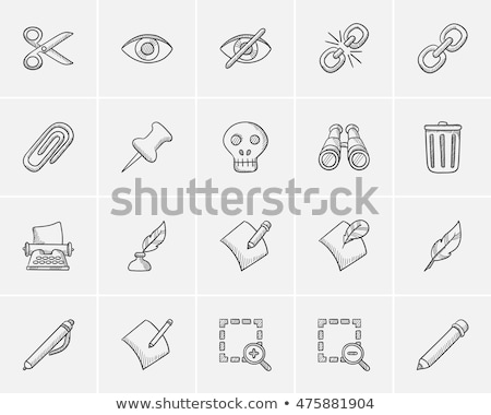 Publish Content Button Sketch Icon Vector Illustration Andrei