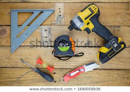assortment of tools stock photo © lienkie
