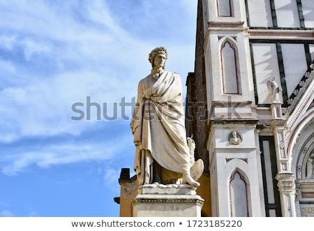 Statue of Dante Alighieri in Florence Stock photo © boggy