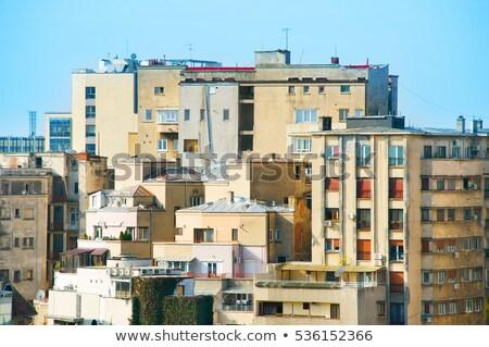 Бухарест жилье проблема Румыния старые архитектура Сток-фото © joyr
