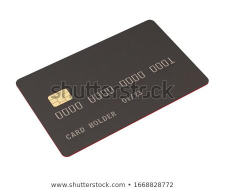 黒 チップ パッケージ 1 赤 ディップ ストックフォト © pakete