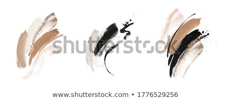 Czarny grunge ramki farby Zdjęcia stock © SArts