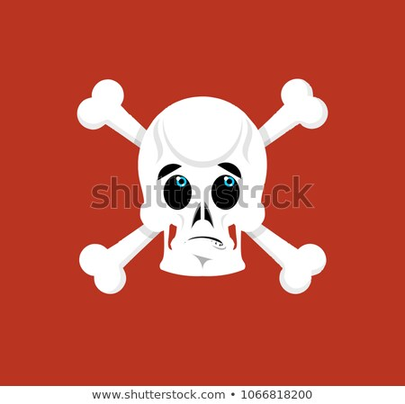 Kafatası beyin şaşırmış iskelet kafa duygu Stok fotoğraf © popaukropa
