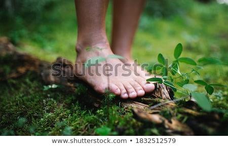 Barefooted Stock photo © Saphira