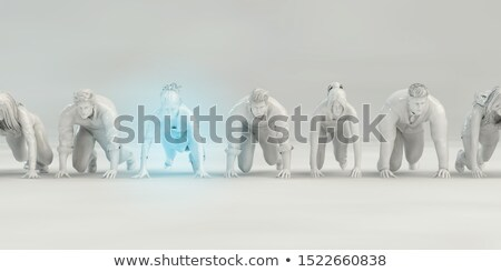 it security job vacancy 3d illustration stock photo © tashatuvango