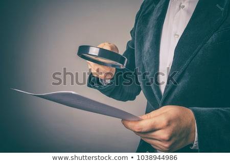 cálculo · débito · crédito · equilibrio · hoja · contabilidad - foto stock © olena