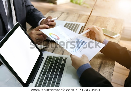 Article Marketing on Laptop in Meeting Room. Stock photo © tashatuvango