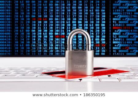 secure payment closeup of keyboard stock photo © tashatuvango