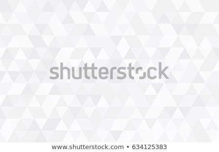 Háromszög minta mértani csempe mozaik zöld Stock fotó © hamik