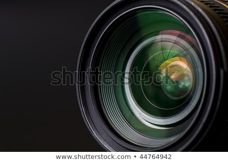 Close-up Of An Illuminated Movie Camera Stock photo © AndreyPopov
