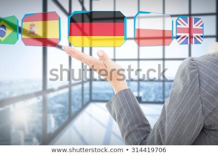 Indian man and woman doing presentation Stock photo © studioworkstock