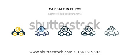 currency icon in different style stock photo © sidmay