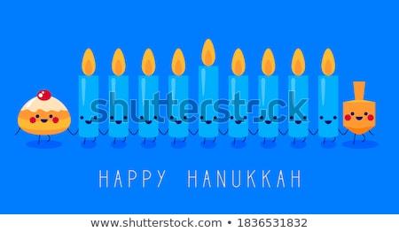hanukkah dreidel Stock photo © get4net