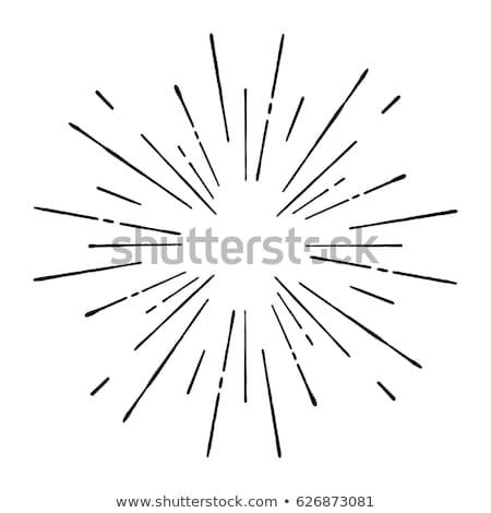 Сток-фото: солнце · гипнотический · вектора · комического · желтый