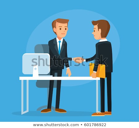 businessman shaking hands with his client stock photo © andreypopov
