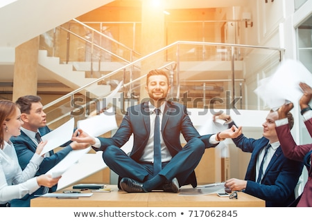 carriere · business · stress · zakenman · werknemer - stockfoto © lightsource