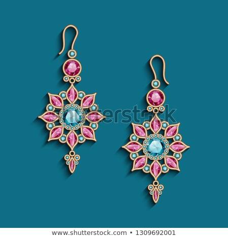 Jewelry mandala Stock photo © blackmoon979