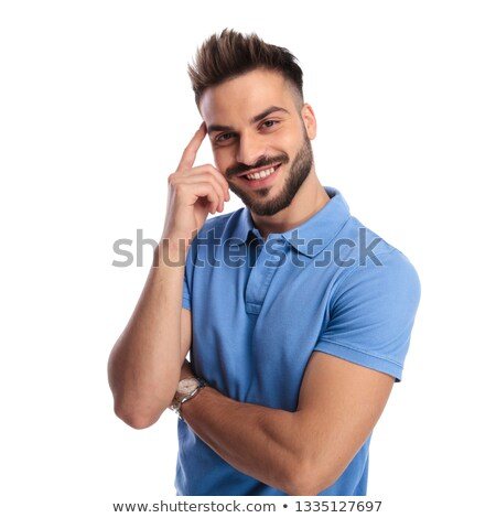 Well dressed man holding his hands crossed Stock photo © feedough
