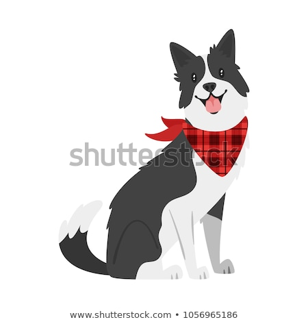 funny sheep dog cartoon character ストックフォト © izakowski