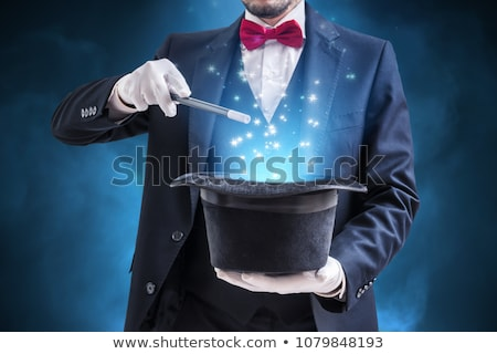 A magician perform on stage Stock photo © bluering